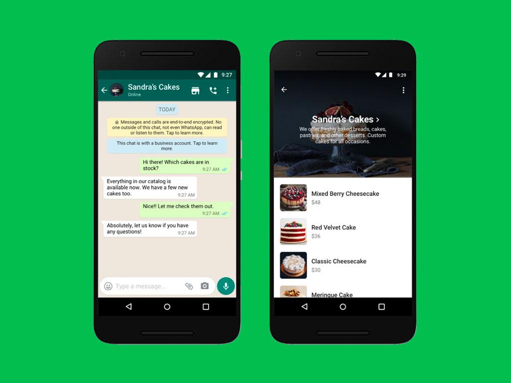 WhatsApp přidal nákupní tlačítko přímo do firemních chatů