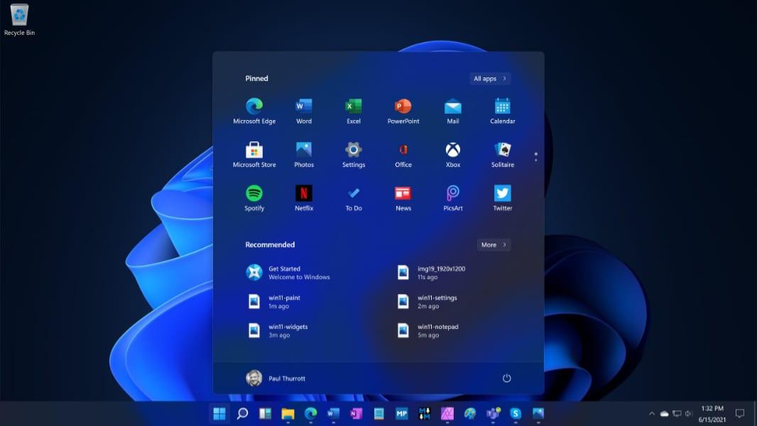 Microsoft oficiálně představil Windows 11 s webovými widgety
